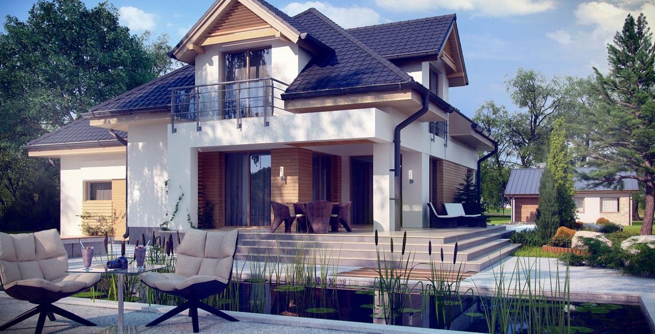 Casa de 200 mp care te va cuceri instant. Imagini din interior si exterior