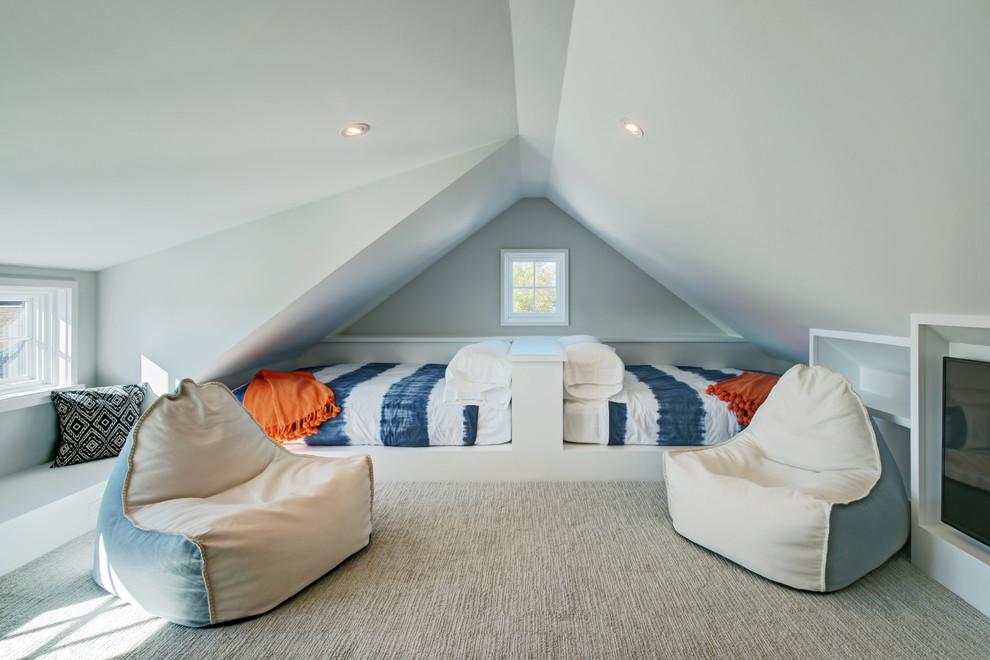 6 dormitoare pentru copii amenajate la mansarda