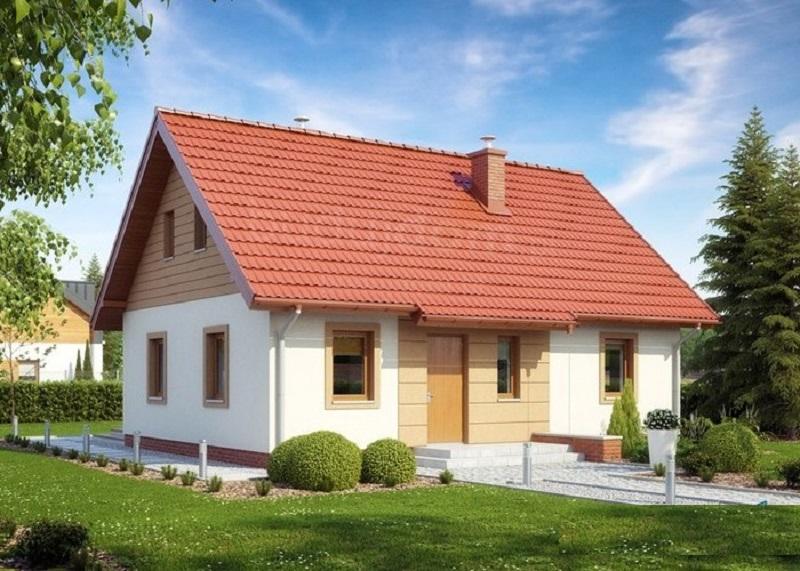 Proiect de casa mica construibila cu buget redus. Vezi pretul la cheie !